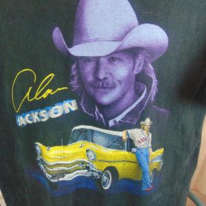 ALEN JACKSON Shirts - Alen Jackson Concert Tour Large